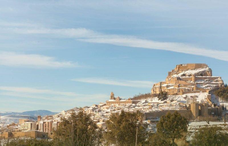 Morella Castellon Nieve