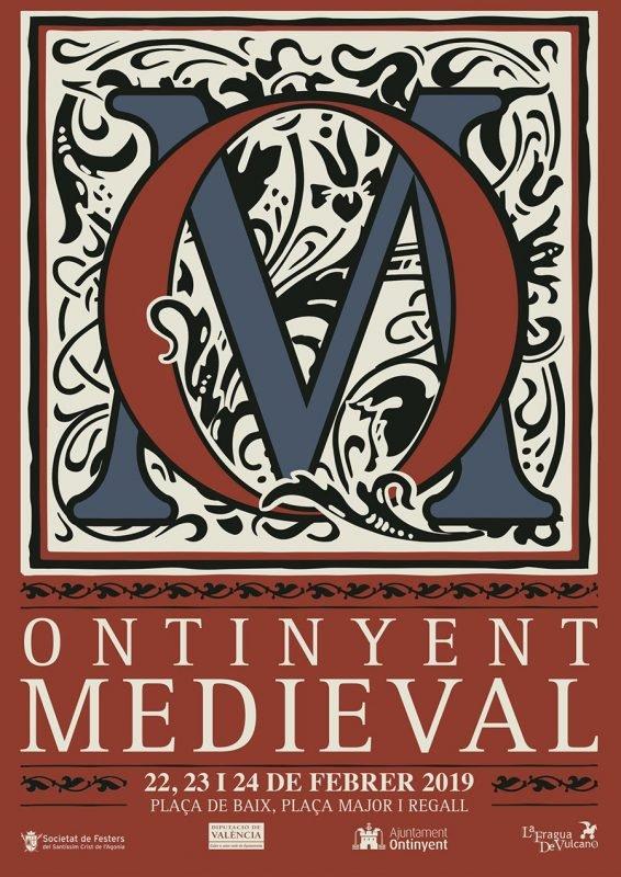 Ontinyent Medieval 2019 Cartel