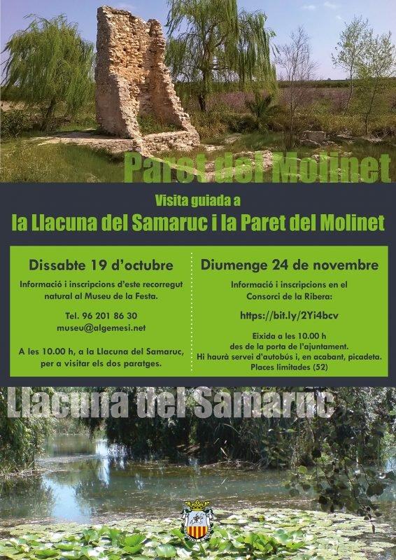 Llacuna Samaruc Algemesi Visita Oct Nov 2019