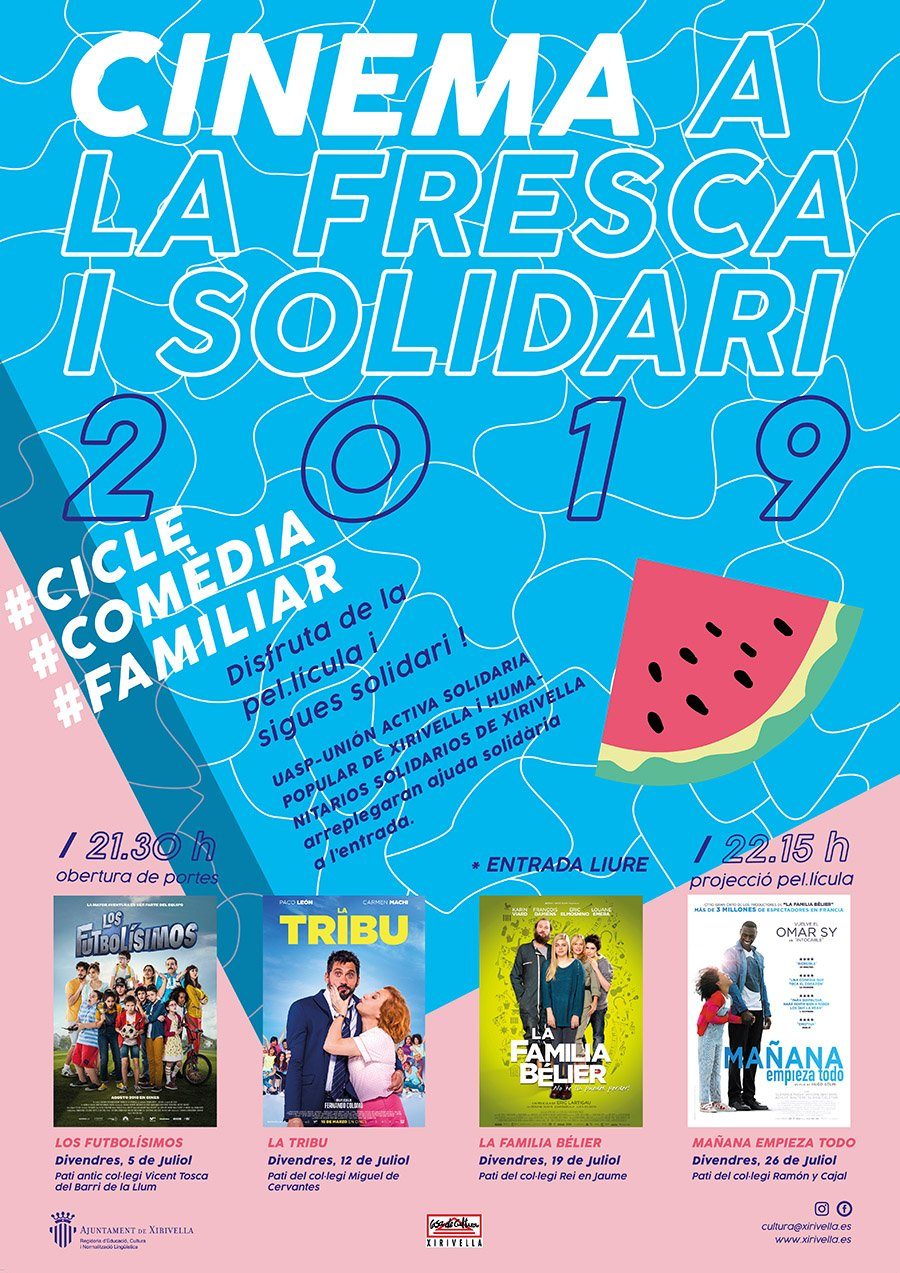 Cine Fresca Xirivella 2019