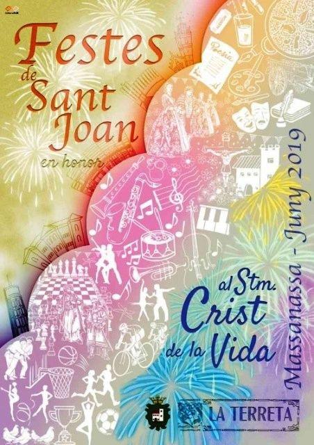 Fiestas San Juan Massanassa 2019 Cartel