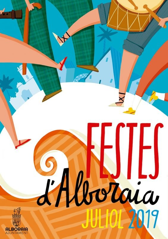 Fiestas Alboraya Cartel 2019