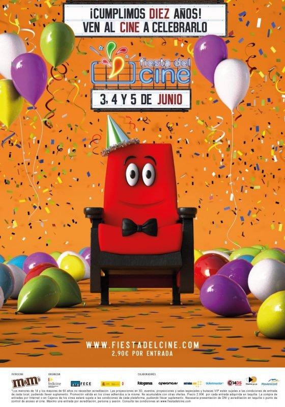 Fiesta Cine Junio 2019 Cartel