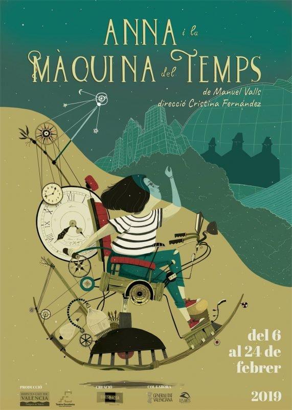 Anna Maquina Temps Escalante Cartel