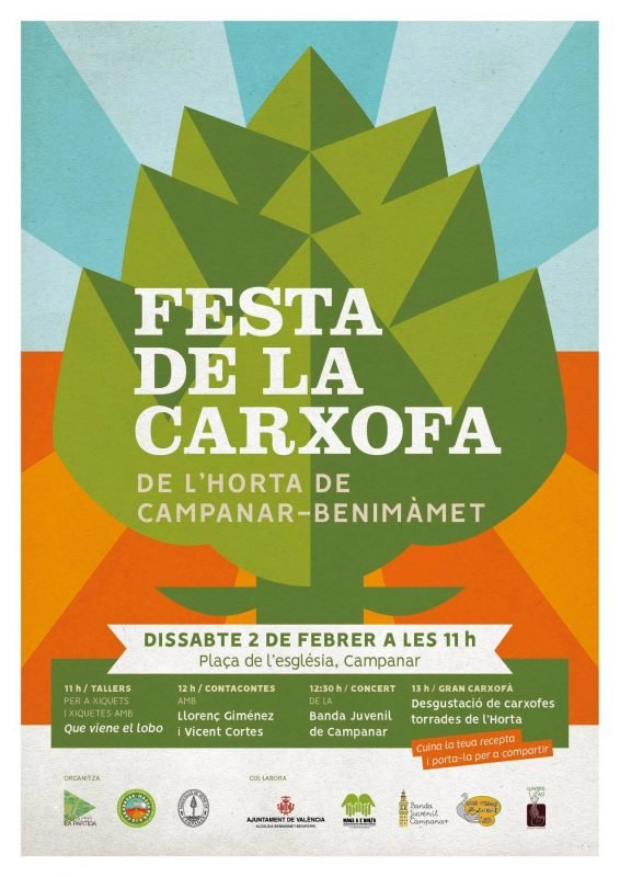 Festa Carxofa Campanar 2019 Cartel