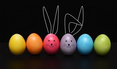 Pascua Conejo Huevos