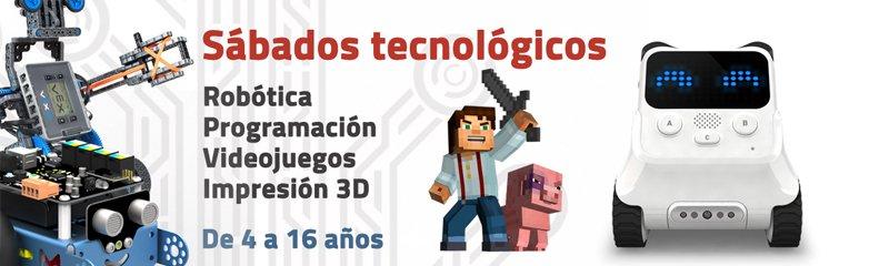 Sabados Tecnologicos Droide Megabanner