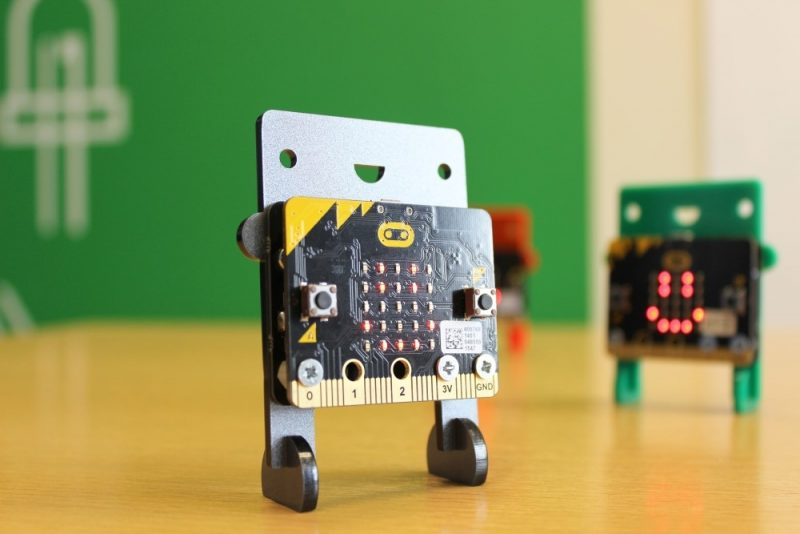 Taller Microbit Droide