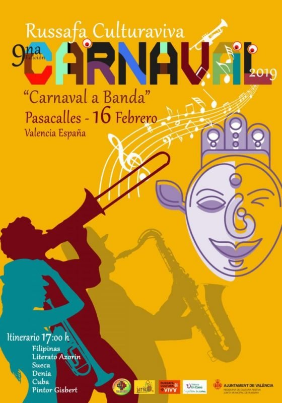 Carnaval Ruzafa 2019 Cartel 2