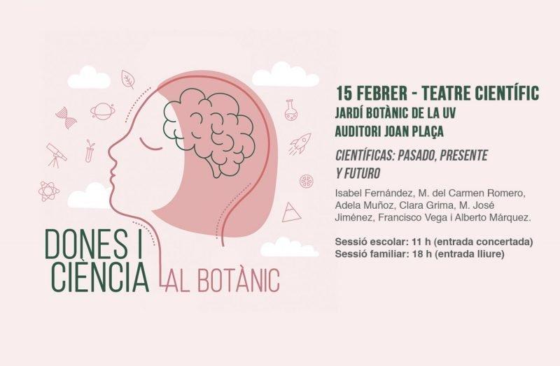 Dones Ciencia Botanico Valencia 2019 Teatro Cientifico