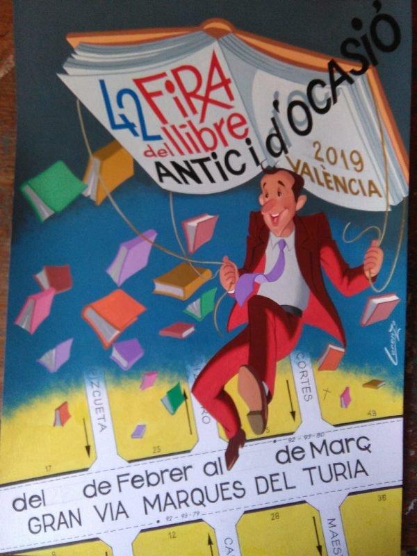 Feria Libro Antiguo Ocasion Cartel 2019