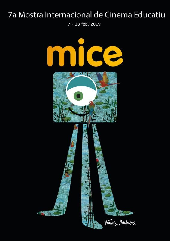 Muestra Internacional Cine Educativo Mice 2019 Cartel