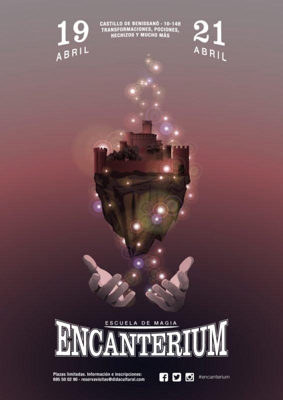 Escuela Magia Encanterium Benissano Didac