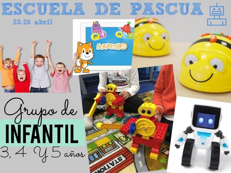 Escuela Pascua Robotica Para Niños Infantil 2019