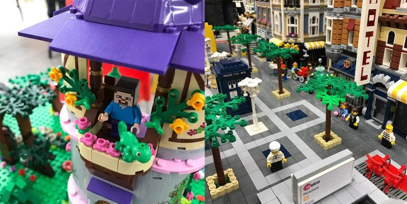 Exposicion Lego Valbrick