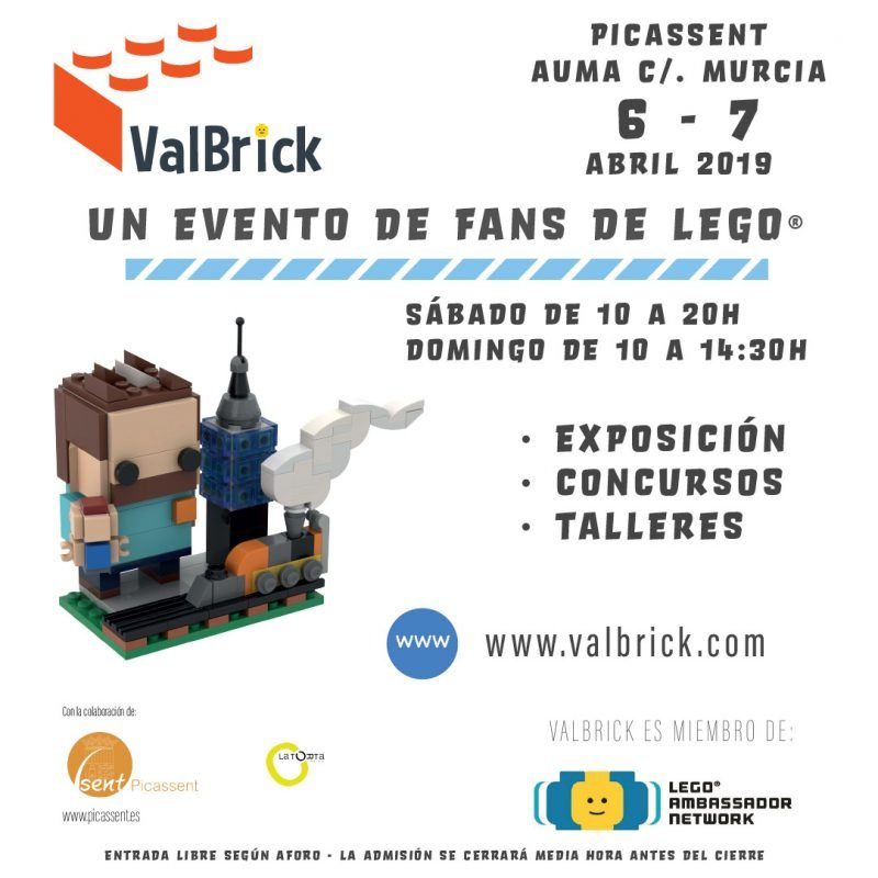 Exposicion Lego Valbrick Picassent 2019