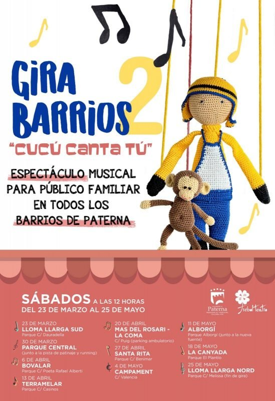 Gira Barrios Paterna 2019 Cartel