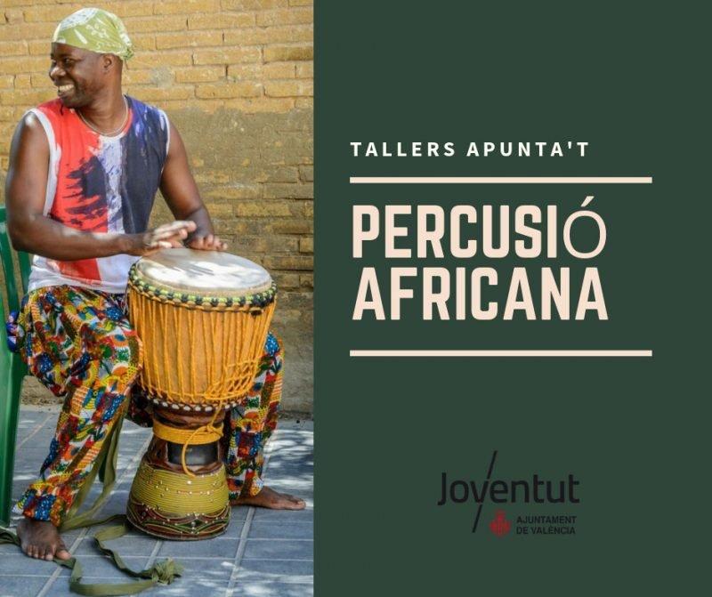 Talleres Apuntat Percusion Africana