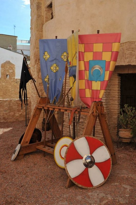 Castillo Benissano Medieval