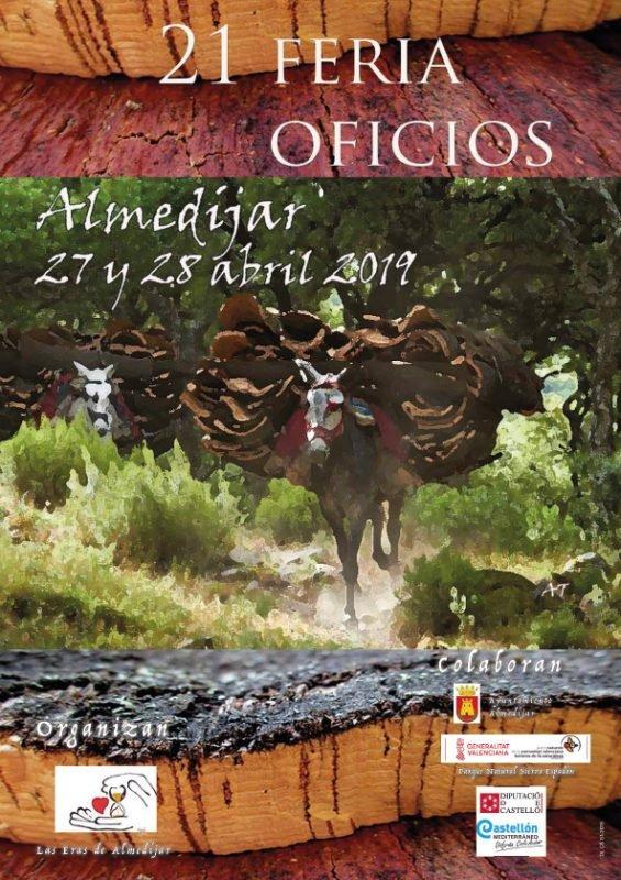 Feria Oficios Almedijar 2019 Cartel