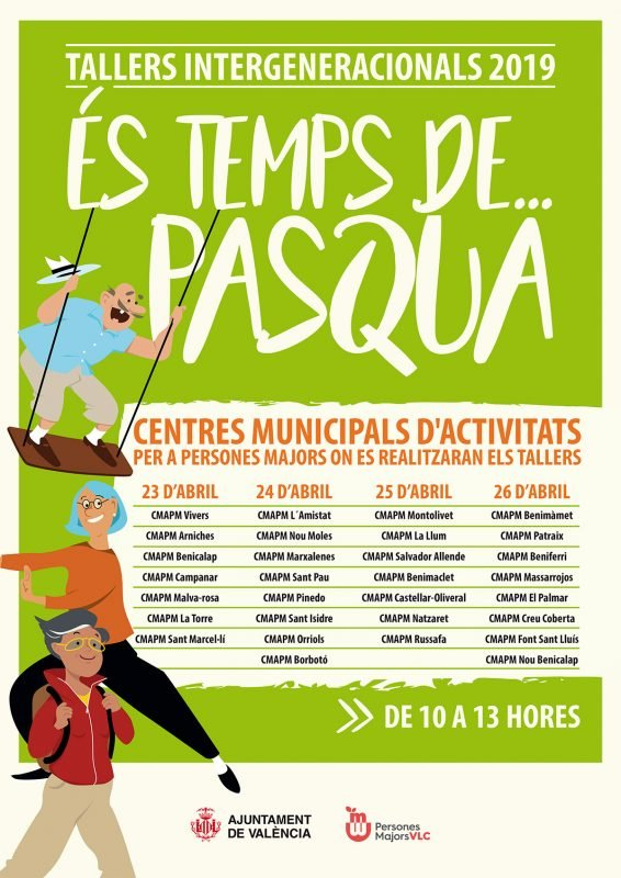 Talleres Pascua Abuelos Nietos Valencia