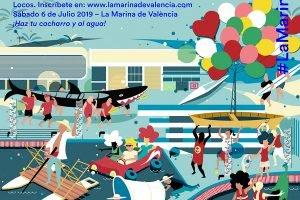 Barcos Locos Regata Marina Valencia 2019 Cartel