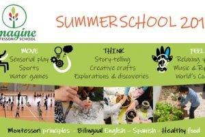 Escuela Verano Imagine 2019 Banner
