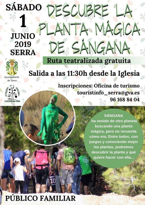 Ruta Sangana Serra Junio 2019
