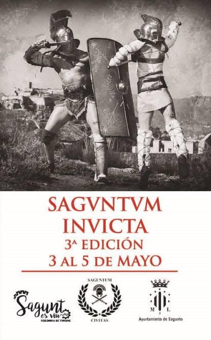 Saguntum Invicta 2019 Cartel