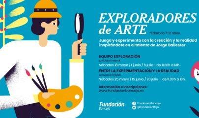 Talleres Exploradores Arte Fundacion Bancaja 2019