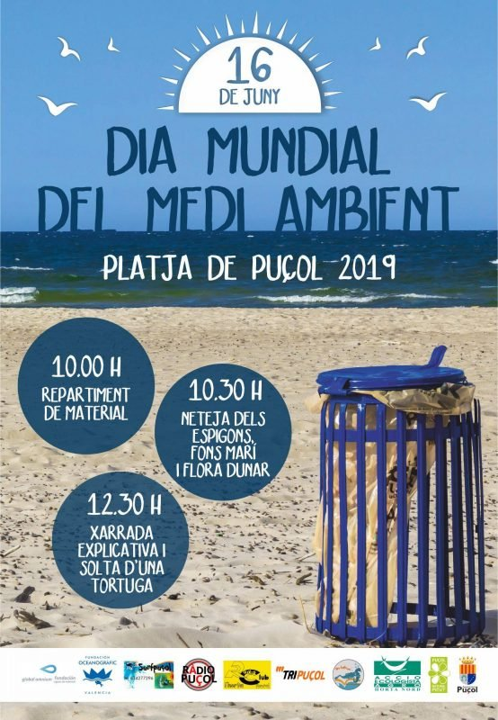 Dia Medio Ambiente Playa Puzol 2019