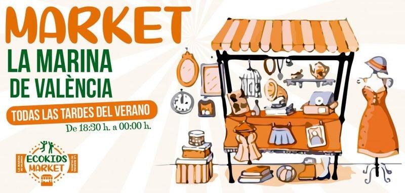 Ecokids Market La Marina Valencia Verano