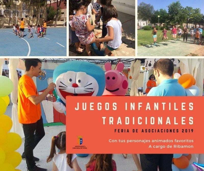 Feria Asociaciones Ribaroja Juegos Infantiles