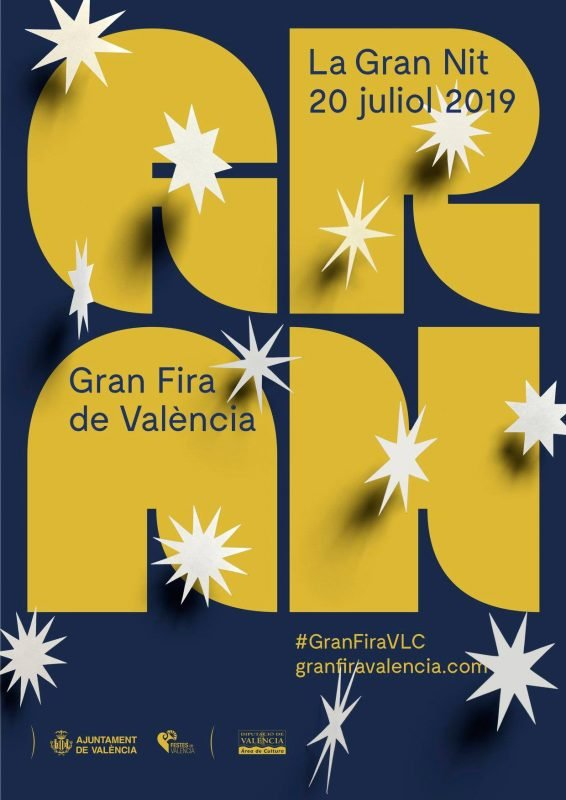 Gran Fira Valencia 2018 Cartel Gran Nit