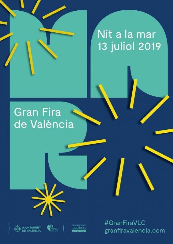 Gran Fira Valencia 2018 Cartel Nit Mar