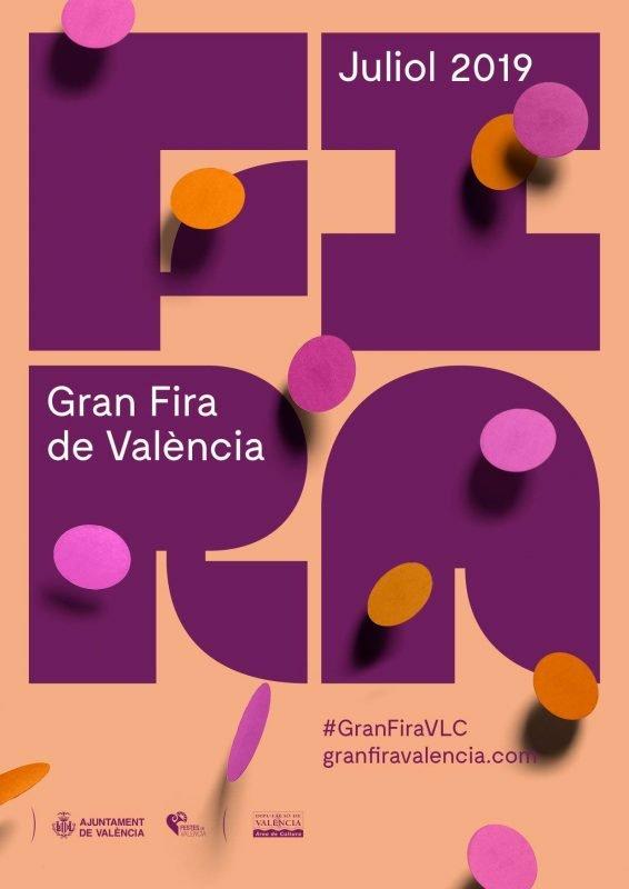 Gran Fira Valencia 2019 Cartel