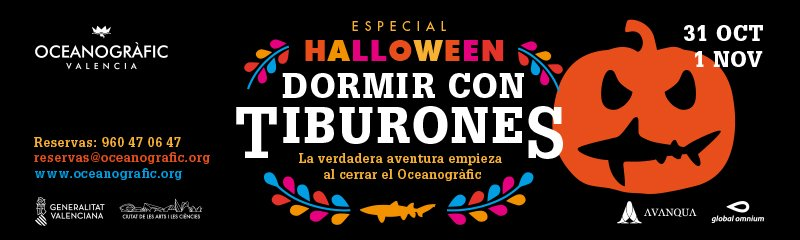 Halloween Oceanografic 2019 800x240