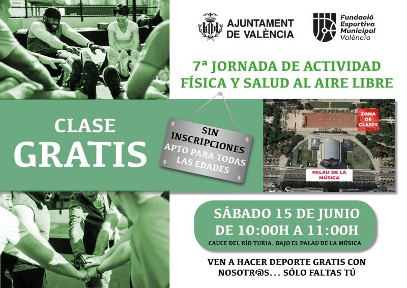 Jornada Actividad Fisica Deporte 15 Junio