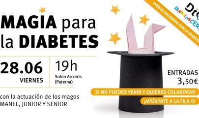 Magia Diabetes Espectaculo Benefico Banner