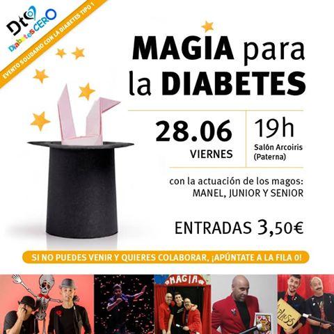 Magia Diabetes Espectaculo Benefico