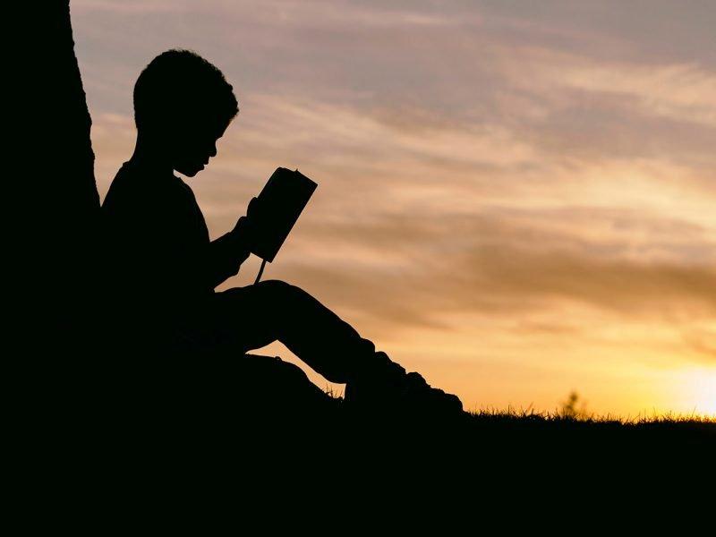 Niño Libro Leer