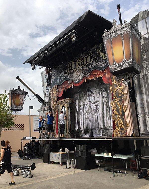 Opera Pueblos Les Arts Volant Escenario