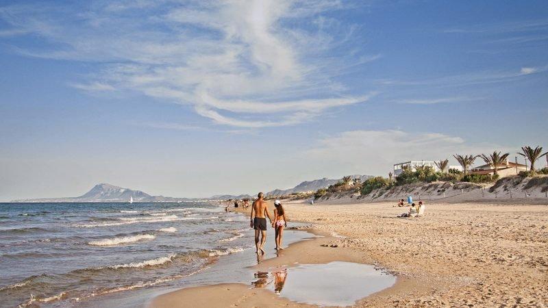 Playa Aigua Blanca Oliva 1