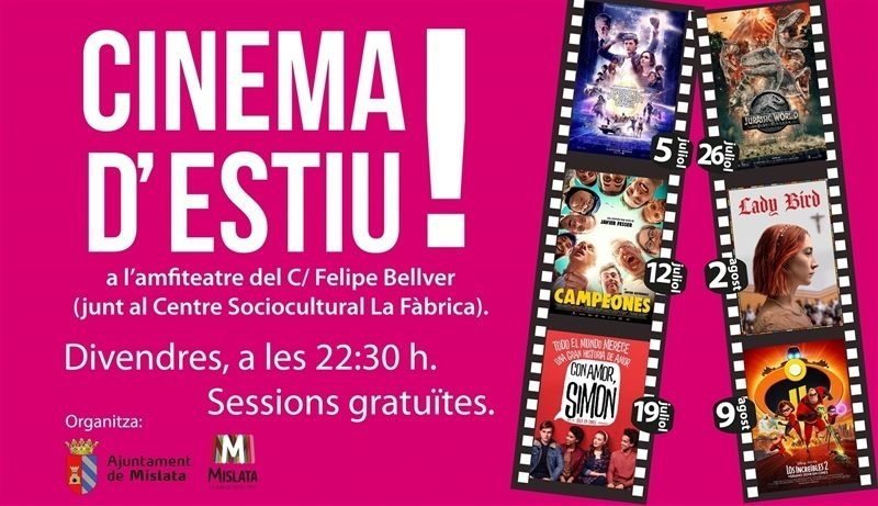 Cine Verano Mislata 2019