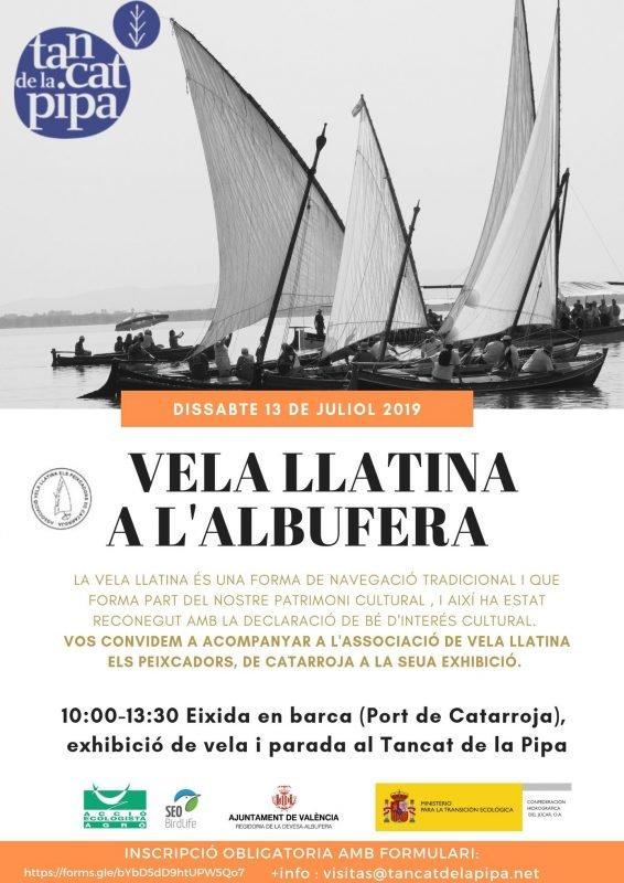 Exhibicion Vela Latina Albufera 13 Julio