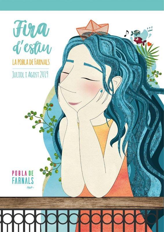 Feria Verano Pobla Farnals 2019 Cartel