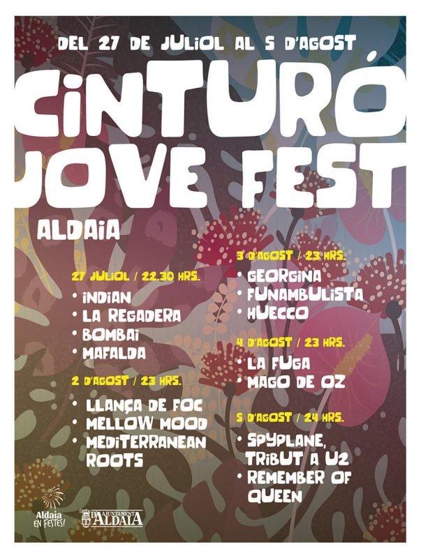 Fiestas Aldaia 2019 Cinturo Jove Fest