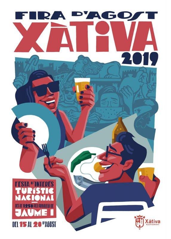 Fira Xativa 2019 Cartel