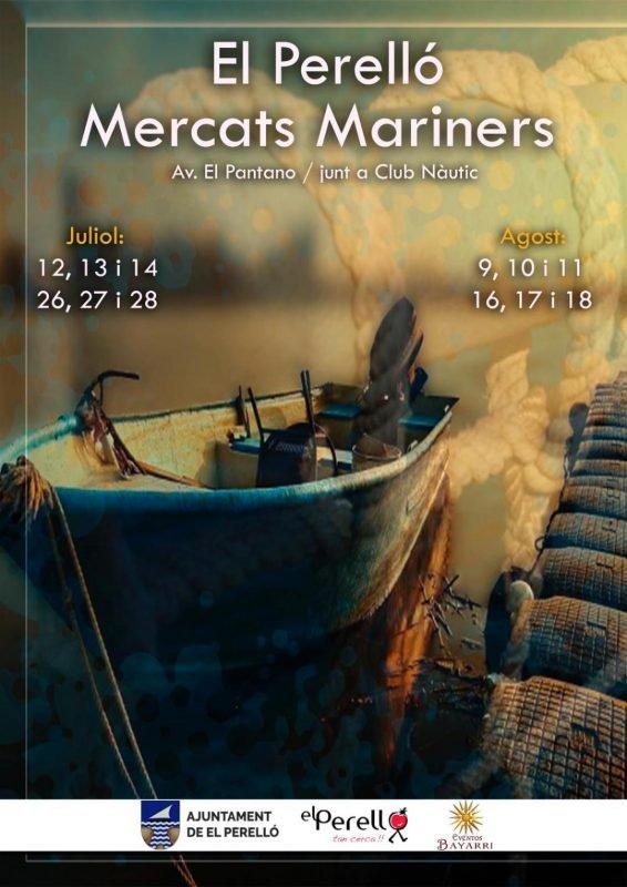 Mercado Marinero El Perello 2019 Cartel