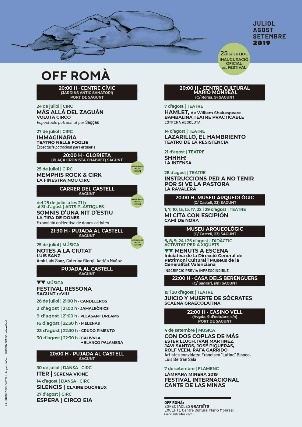 Sagunt A Escena Off Roma 2019